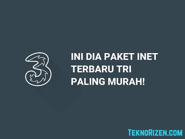 Paket Internet Murah Tri 4GB Rp3.500 [2019]