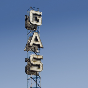 Gas sign for truckers late for ifta filing