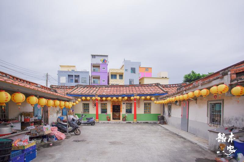 閩南式傳統建築|小琉球三民老街~新舊建築夾雜的懷舊古宅漁村