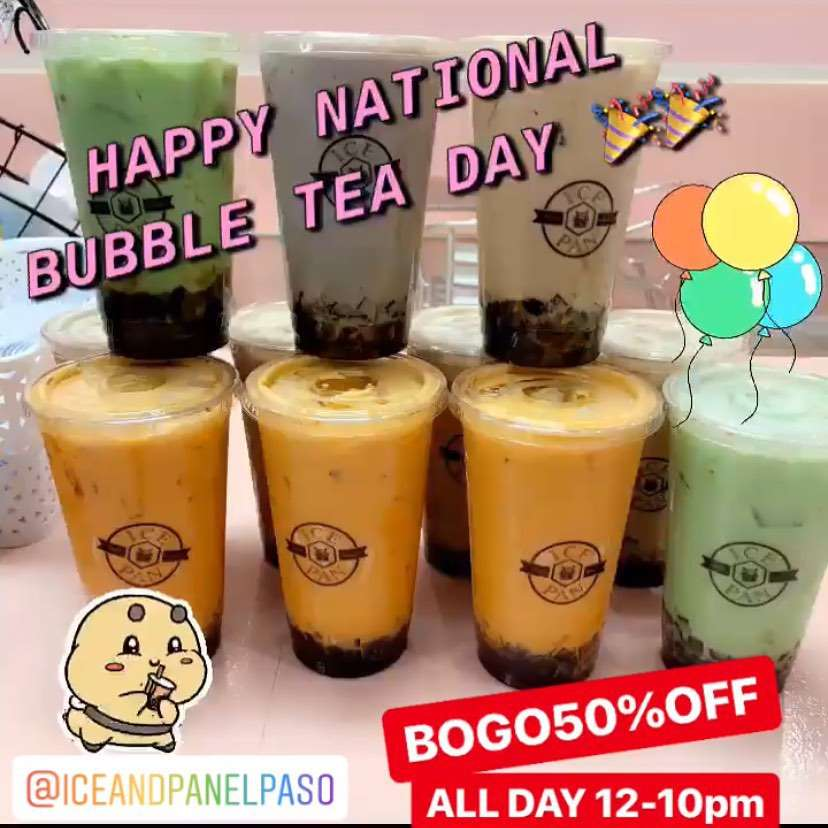 National Bubble Tea Day Wishes pics free download