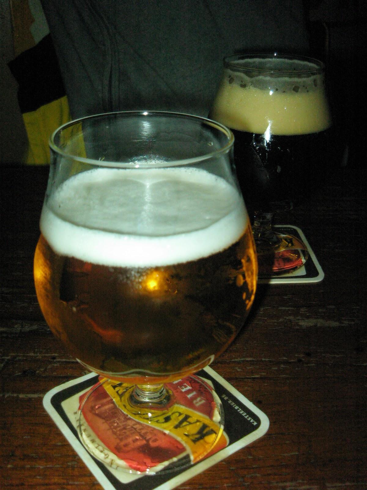 Cervezas en Café Delirium
