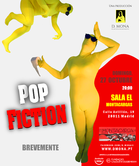 POP FICTION NA SALA EL MONTACARGAS (MADRID)