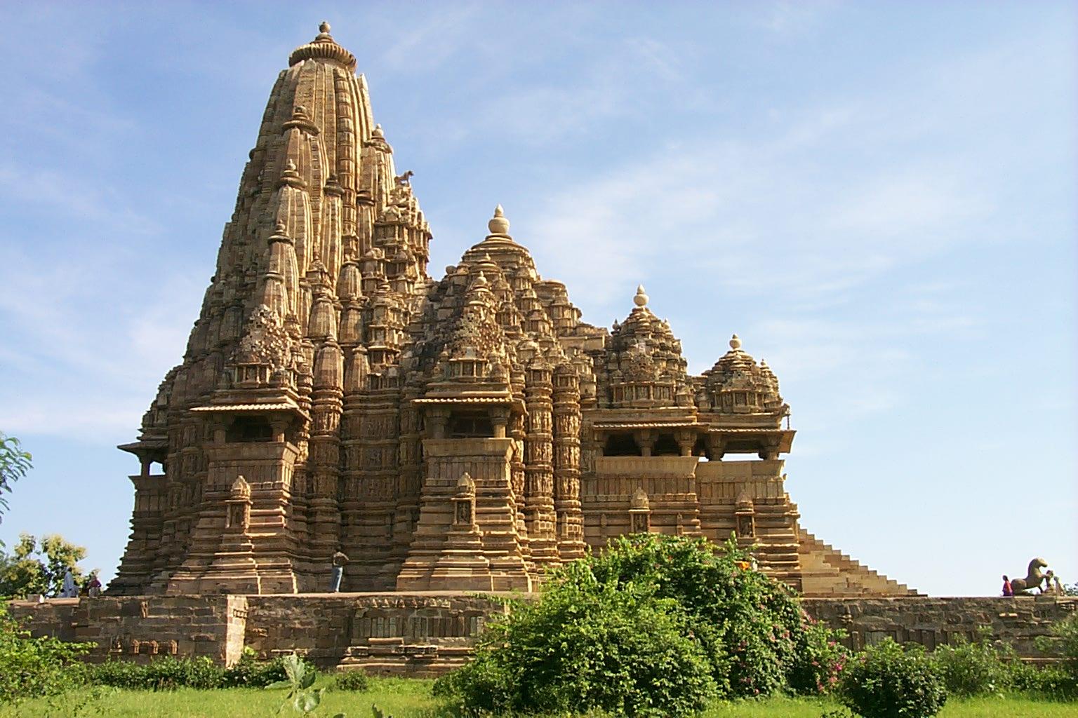Madhya Pradesh Tourism: Kandariya Mahadev Temple, Khajuraho in Madhya ...