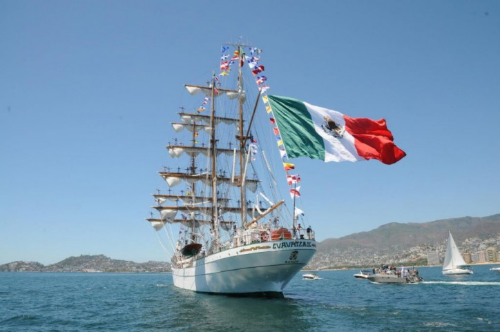 Mexican Tall Ship to visit New London, US