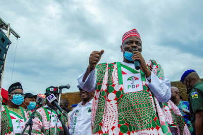 Photos from Ondo PDP campaign finale #OndoDecides2020