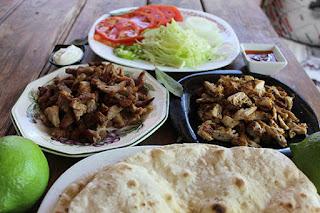 Ingredientes para kebab