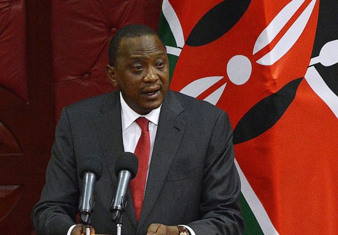 Kenyan opposition MPs boycott Uhuru Kenyatta's speech