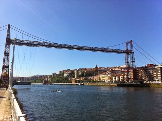 El puente de Vizcaya, el mejor puente colgante