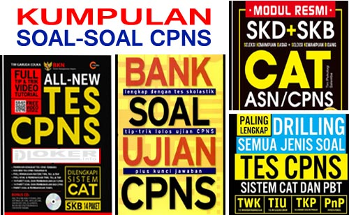 Download Ribuan Contoh Socal SKD CAT CPNS 2019 pdf