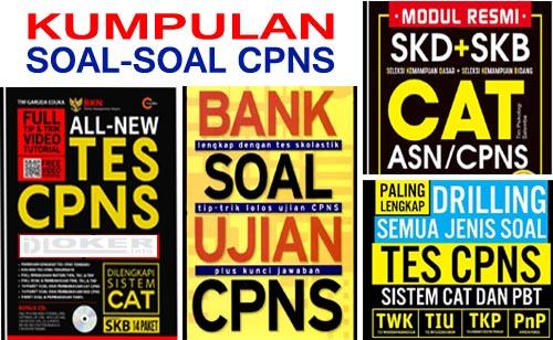 Download Ribuan Contoh Soal SKD CAT CPNS 2019 pdf