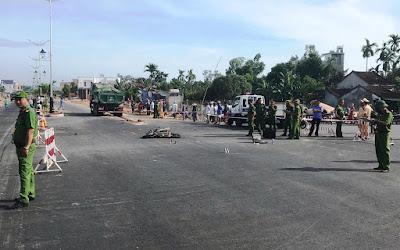Quảng Ngãi Trên đường đi ôn thi nữ sinh lớp 12 bị xe tải tông chết tại chỗ