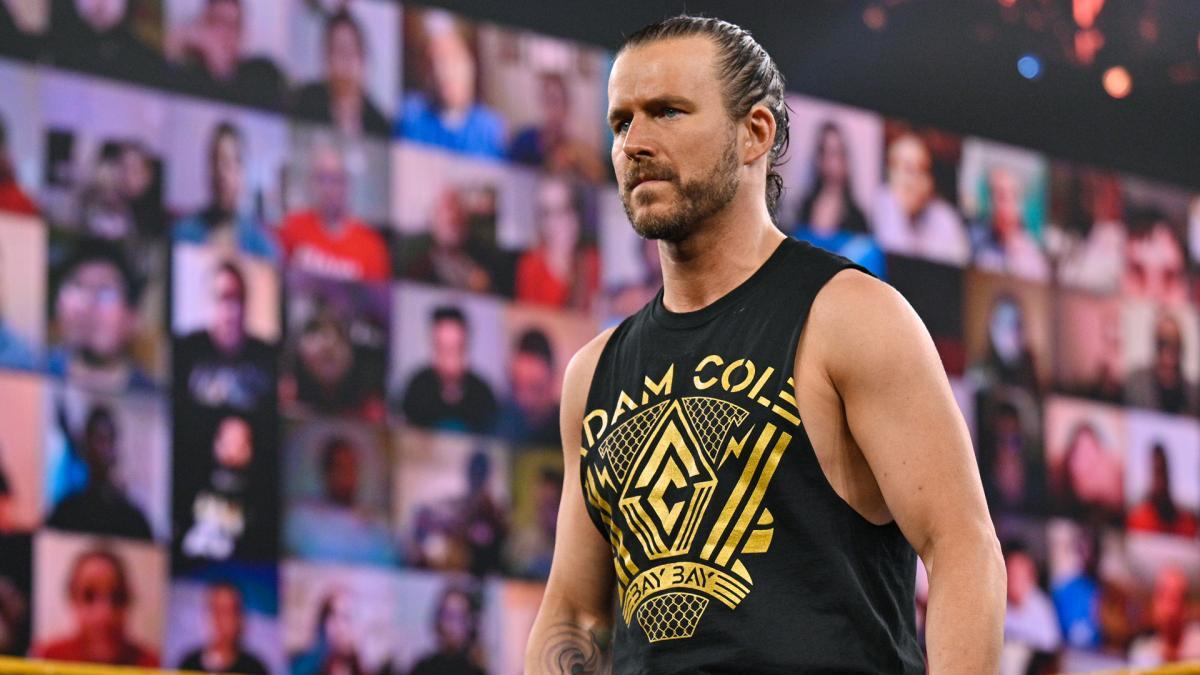 Adam Cole está praticamente fora da WWE