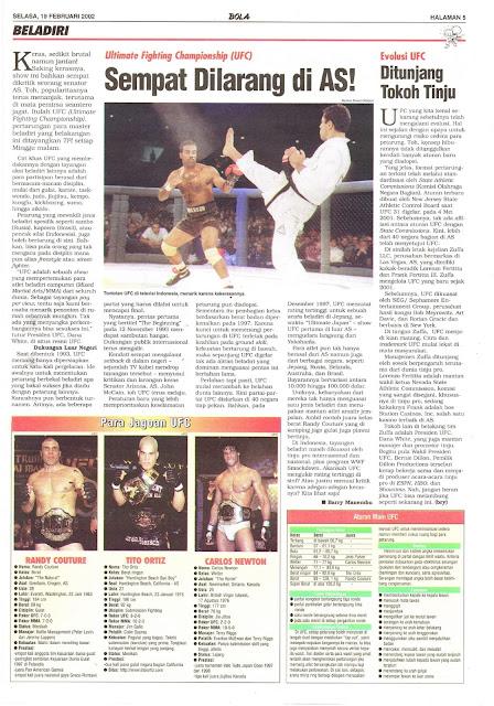 UFC SEMPAT DILARANG DI AS!