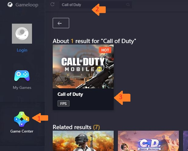 download gameloop cod