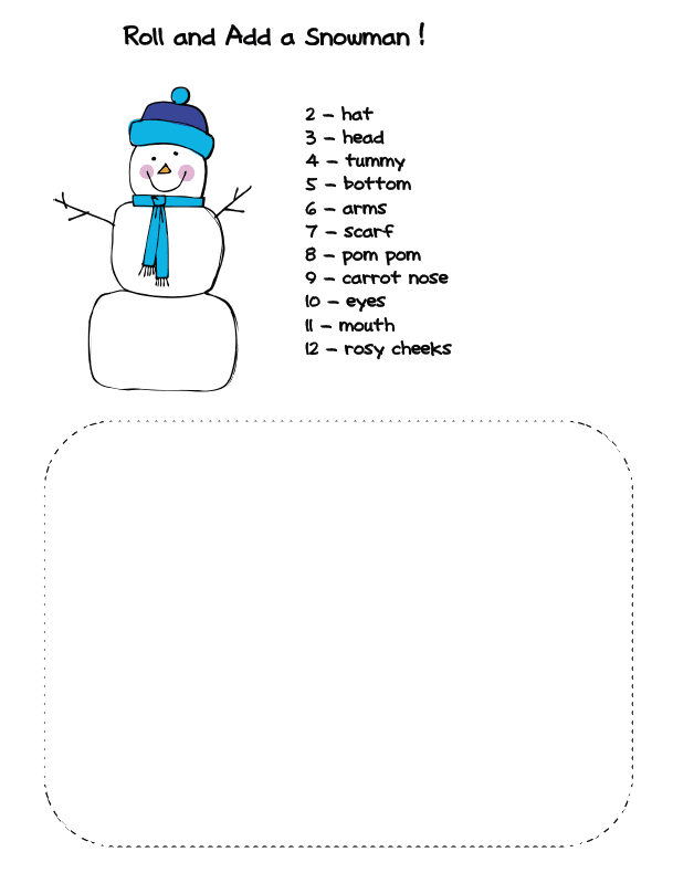 Two snowman games to practice addition to 12. Perfect for First Grade. GradeONEderful.com