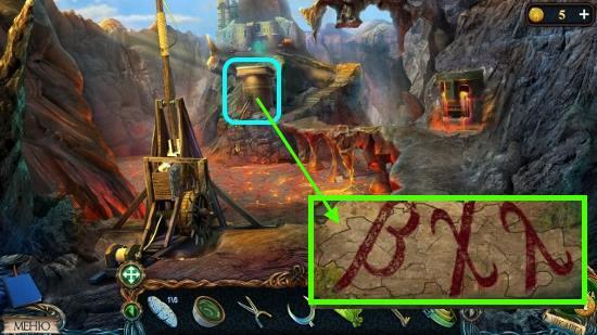 из пазлов собираем символы и запоминаем в игре затерянные земли 3