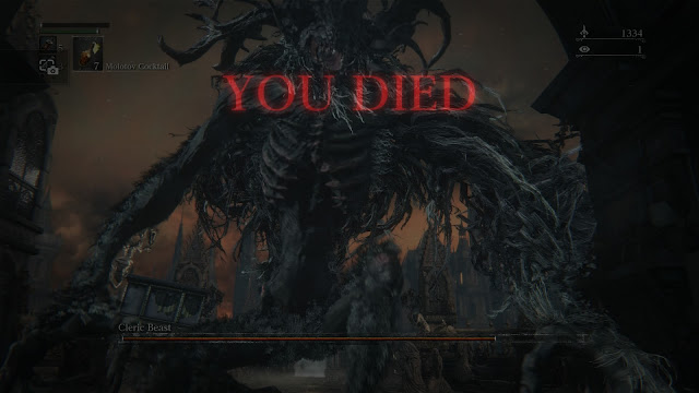 bloodborne you died