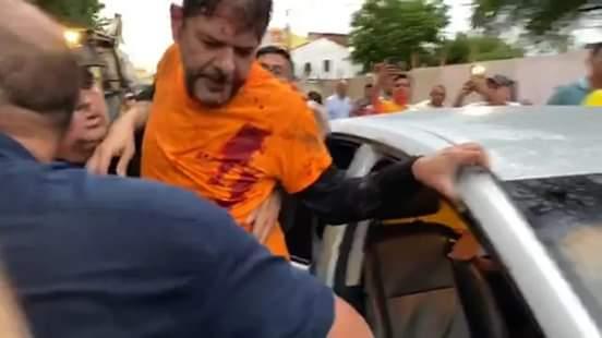 Senador Cid Gomes é baleado em manifestação de policiais em Sobral