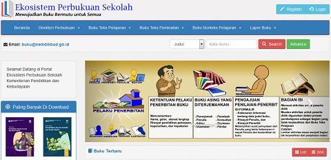 Kemendikbud: Masukan Tentang Buku Pelajaran Sekolah Dapat Disampaikan Melalui Laman buku.kemdikbud.go.id