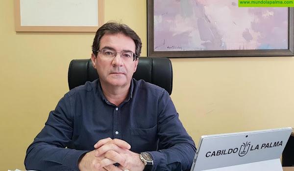 José Adrián Hernández destaca que el Cabildo mejora el servicio del Matadero Insular con más personal