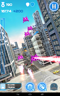 Merupakan sebuah game yang mengusung konsep endless driving dengan nuansa grafis yang mena Unduh Game Android Gratis Jet Run: City Defender apk + obb