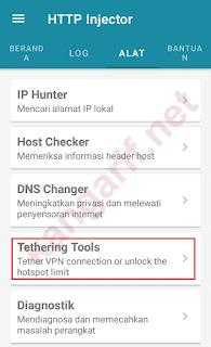 klik tethering tools
