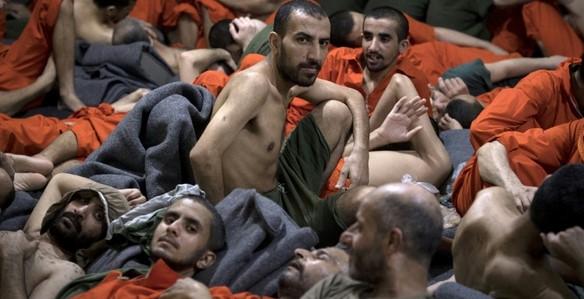 tahanan isis di penjara suriah