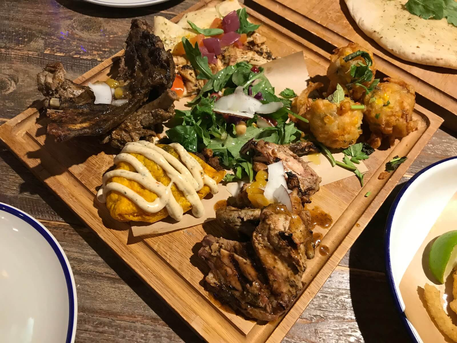 Turtle Bay Meat Platter Starter