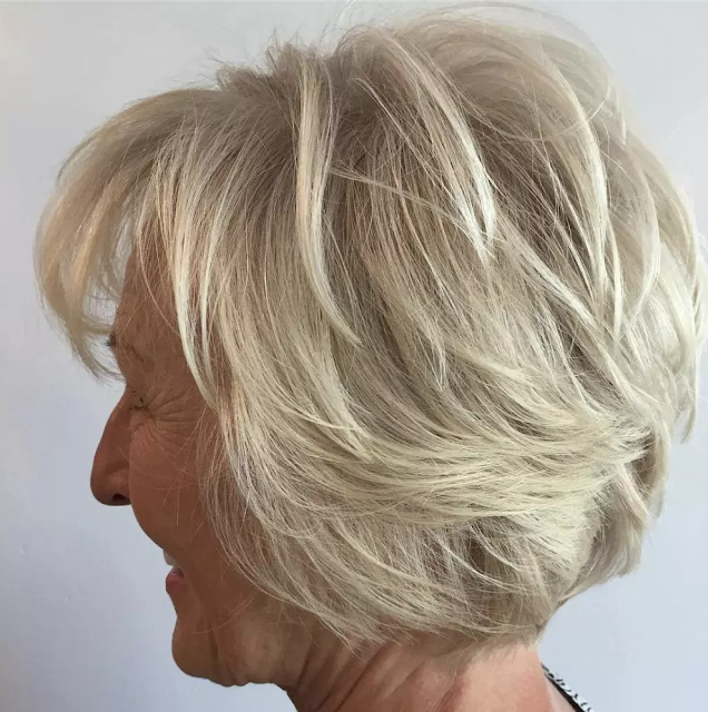 haircuts for older women over 60