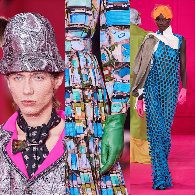 Maison Margiela by John Galliano Haute Couture Spring Summer 2020 Paris. RUNWAY MAGAZINE ® Collections