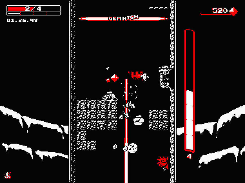 Downwell Will Launch On January 31, 2019 For Switch