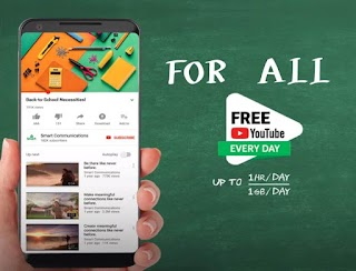 Smart Free YouTube for All Everyday 2019 - Claim up to 1GB of Data