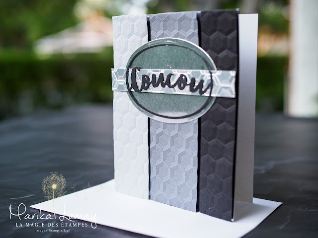 carte masculine Stampin' up!