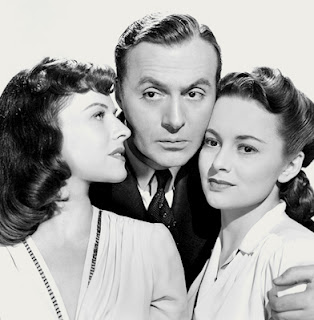 Hold Back The Dawn - Charles Boyer, Olivia de Havilland, and Paulette Goddard