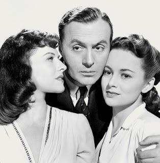 Hold Back The Dawn - Charles Boyer, Olivia de Havilland, and Paulette Goddard