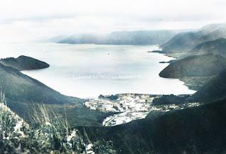 pemandangan tongging dan danau toba