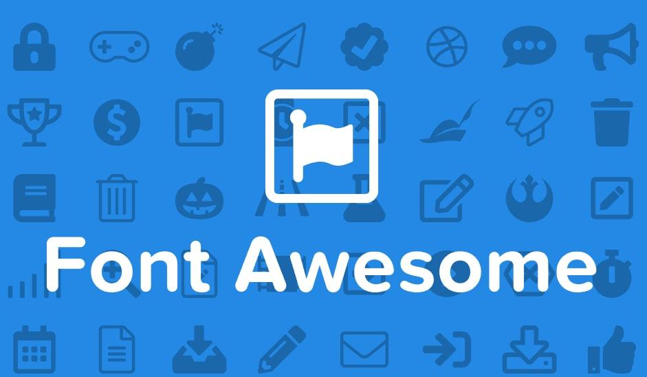 Cara Mudah Menggunakan Icon Font Awesome Pada Blogspot