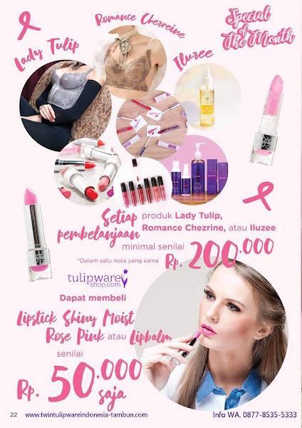 Promo Diskon Lady Tulip Oktober 2018