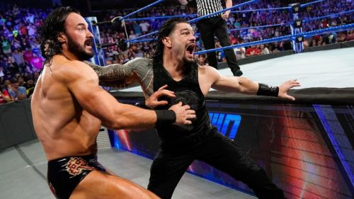 Roman Reigns get a Bang match after being off air in SmackDown