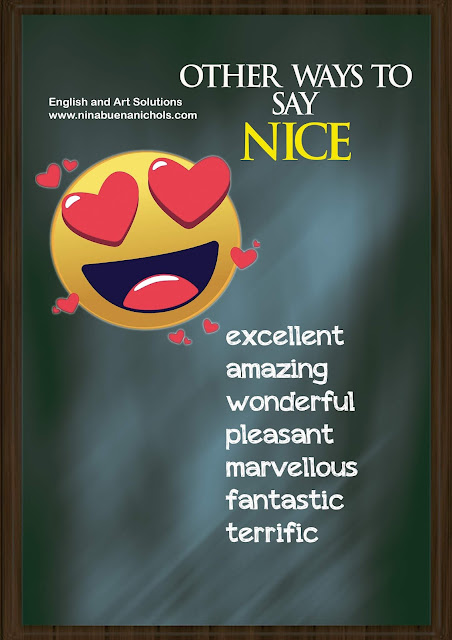 other ways to say nice