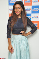 Shravya in skirt and tight top at Vana Villu Movie First Song launch at radio city 91.1 FM ~  Exclusive 164.JPG