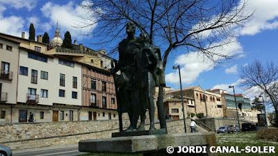 Estatua del Lazarillo de Tormes en Salamanca