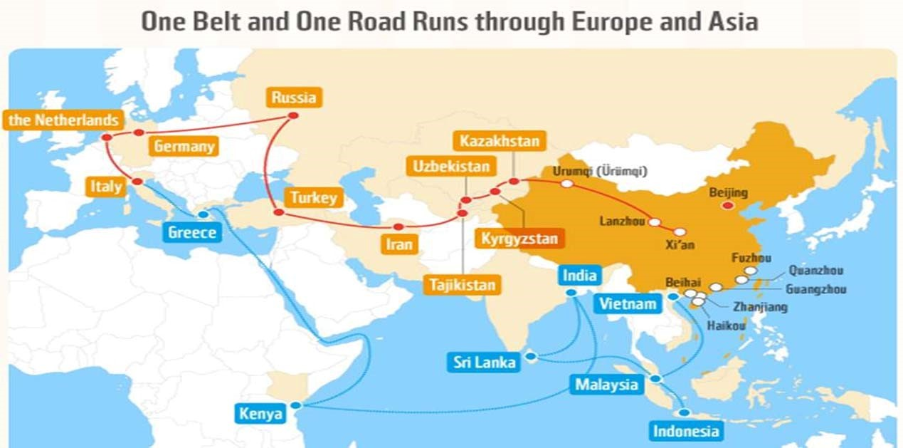 harshad : One Belt One Road (OBOR) and India, An Analysis