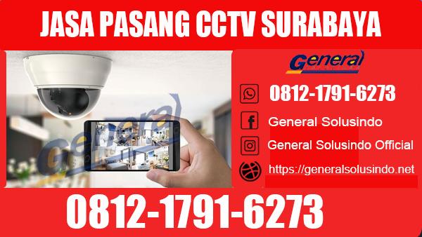 Jasa Pasang CCTV Sukolilo Surabaya