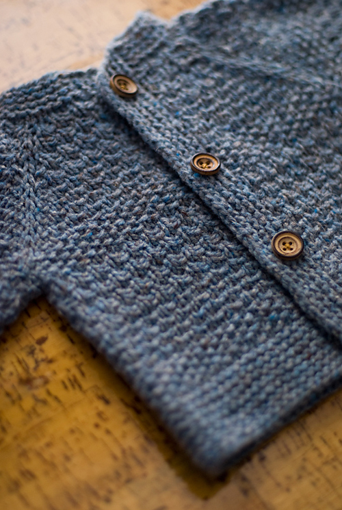 Baby Tweed - Knitting Cardigan