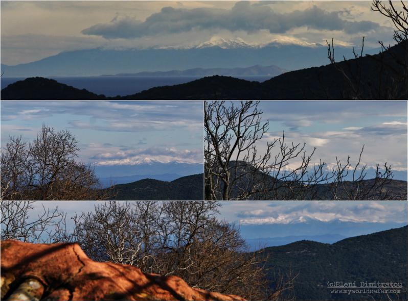Θέα από Κεφαλονιά προς Πελοπόννησο και Στερεά Ελλάδα