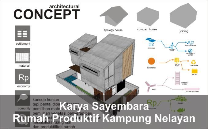 desain rumah berpori