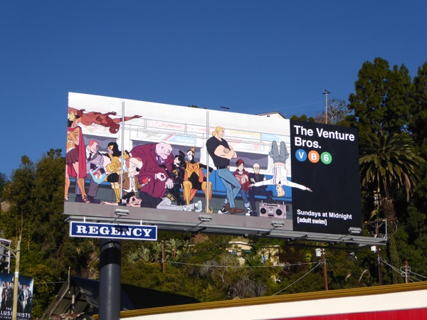 Venture Bros season 6 billboard