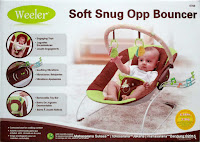 Baby Bouncer Weeler 6768 Soft Snug Opp