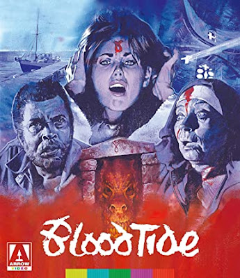 Cover art for Arrow Video's new Blu-ray release of BLOOD TIDE!